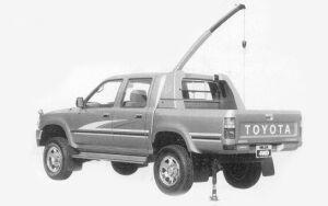 TOYOTA HILUX 1993 г.