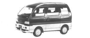 MITSUBISHI BRAVO 1995 г.
