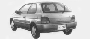TOYOTA TERCEL 1996 г.