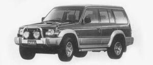 MITSUBISHI PAJERO 1996 г.