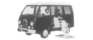 SUBARU SAMBAR 1997 г.