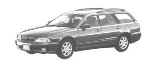 MITSUBISHI DIAMANTE WAGON 1998 г.