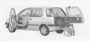 TOYOTA RAUM 1999 г.