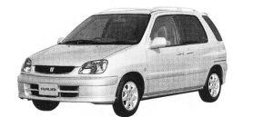 TOYOTA RAUM 2002 г.