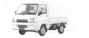SUBARU SAMBAR TRUCK 2004 г.