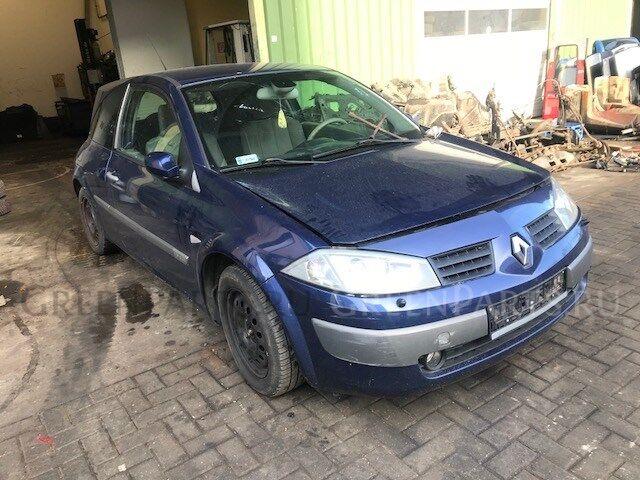 Генератор на Renault Megane 2 2002-2009 номер/маркировка: Valeo 125A 2542554C
