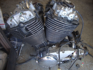 Двигатель vt1100 shadow sc18e