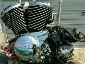 Двигатель intruder classic 400 k509