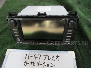 Автомагнитофон на Toyota Premio ZRT261 3ZR-FAE