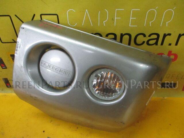 Клык бампера на Mitsubishi Pajero Mini H58A