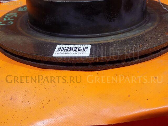 Тормозной диск на Nissan Cima GF50 VK45DD