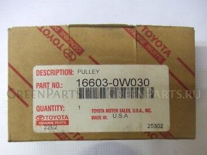 Ролик на Toyota