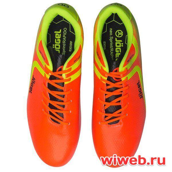 Бутсы футбольные J gel Rapido JSH1001 (42, Оранжевый) в Хабаровске ... f2a2e594ffe